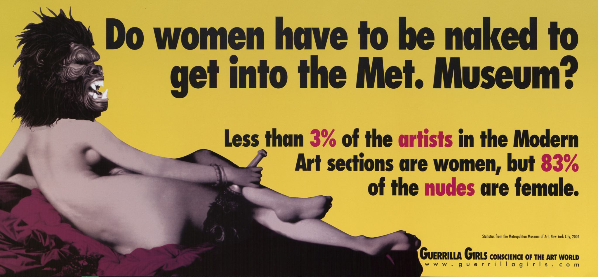 01 guerrilla girls Plakat